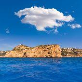 Javea Isla del Descubridor Xabia in Mediterranean Alicante at Spain