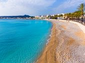 Javea Xabia Playa La Grava beach in Alicante mediterranean Spain