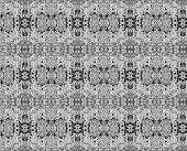 Gray Grunge Vintage Pattern Wallpaper Background