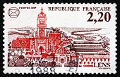 Postage Stamp France 1987 Arms Of Lens
