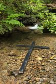 Nature Floating Cross