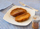 Torrijas, Typical Spanish Sweet In Lent And Easter Or Holy Week.