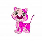 Leopard Vector Illustration Cartoon Art