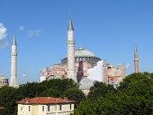 Former Cathedral And Current Mosque Hagia Sophia