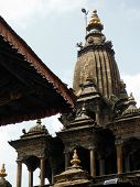 Large Stupa At The Durbar Square Of Patan