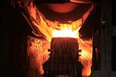Steelmaking workshop