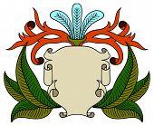 vintage emblem badge