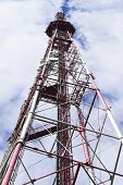 The cell tower and television