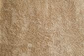 Beige Texture Of Terry Towels