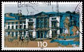 Postage Stamp Germany 2000 State Parliament Of Saarland