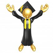 Gold Guy Graduation