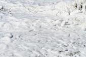 Texture of sea foam.