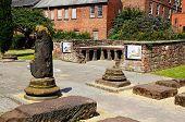 Roman gardens and baths, Chester.