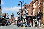 Bridge Street shops, Chester.