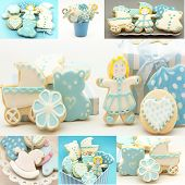 Collages Of Cookies Decorated