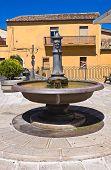 Fontana Grande. Pietragalla. Basilicata. Italy.