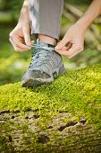 Hiking Or Outdoor Walking Concept
