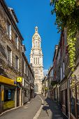 In The Streets In Avranches