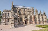 Rosslyn Chapel In Scotland