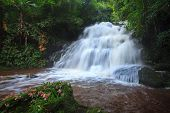 Mhundaeng Waterfall Phu Hin Rong Kla; National Park At Phitsanulok, Thailand
