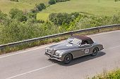Alfa Romeo 6C 2500 Ss Cabriolet Pinin Farina (1947) Runs In Mille Miglia 2014