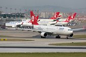Turkish Airlines Airbus A330-200 Istanbul Airport