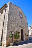 Church of St. Antonio. Pietragalla. Basilicata. Italy.