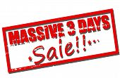 Massive Three Days Sale