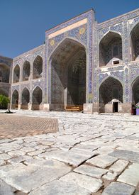 pic of samarqand  - View from Sher Dor Medressa  - JPG