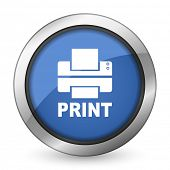 printer icon print sign