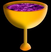 Golden Chalice With Wine