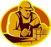 Mason Brick Layer Construction Worker