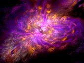 Purple Genesis Background