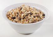 Healthy Muesli For Breakfast In A Bowl