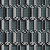 Seamless Stripe Pattern. Abstract Gray Background. Vector Regular Texture