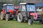 Old Czech Zetor Tractors