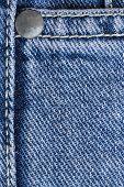 Jean Stitch Texture Detail