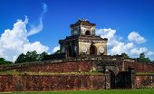 Entrance Gate To The Imperial City, Hue, Vietnam.