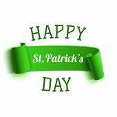 Saint Patricks Day greeting card. Background template