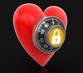 Heart protection  (clipping path included)
