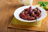 Pork Stew With Plums