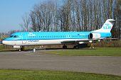 KLM Cityhopper Fokker F100