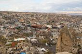Goreme View In Cappadocia, Turkey