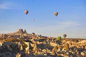 Cappadocia TURKEY - NOVEMBER 13 ,2014 : Discover the amazing landscape of the Cappadocia region of T