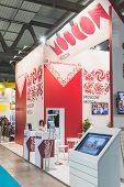 Russian Stand At Bit 2015, International Tourism Exchange In Milan, Italy