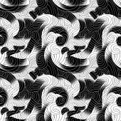 psychedelic seamless pattern
