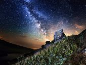 picture of starry night  - Summer night - JPG