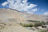 Mountain Landscape Of Kargil In Summer