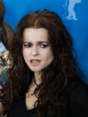 BERLIN, GERMANY - FEBRUARY 13: Helena Bonham Carter, 'Cinderella' press conference, 65th Berlinale International Film Festival at Grand Hyatt Hotel on February 13, 2015 in Berlin, Germany