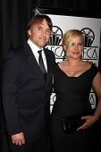 LOS ANGELES - JAN 10:  Richard Linklater, Patricia Arquette at the 40th Annual Los Angeles Film Critics Association Awards at a Intercontinental Century City on January 10, 2015 in Century City, CA